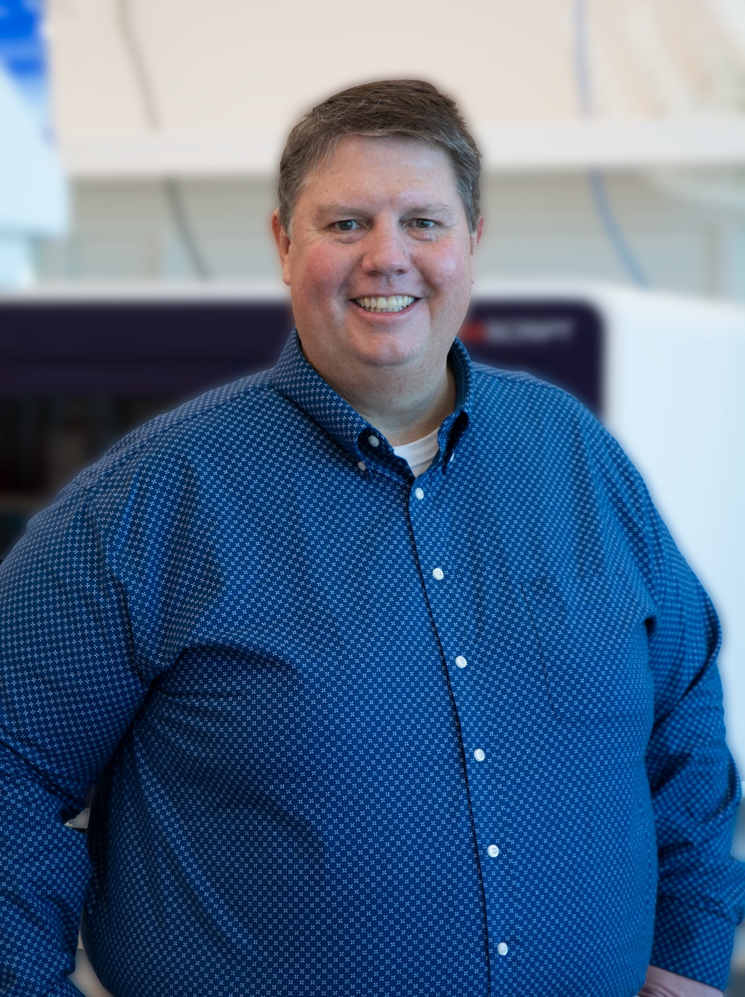 Head shot of Kevin Grossenbacher, Director, Product Development